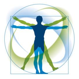 Mensch, Leonardo da Vinci, Quadratur des Kreises, Globulix, Homöopathie, Katrin Reichelt, Globuli