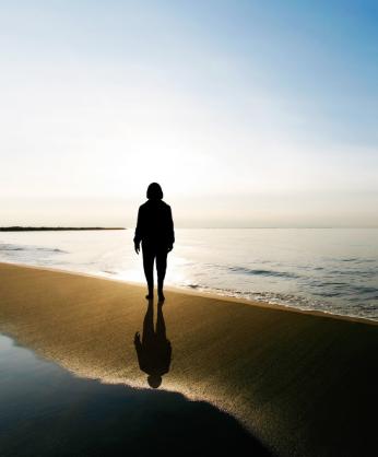 Strand, Seele, Depressionen, Globulix, Homöopathie, Katrin Reichelt, Globuli, Schüßler-Salze
