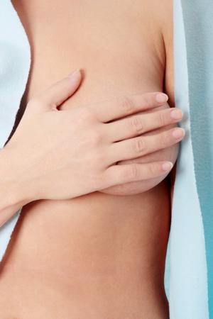 Brust, Brustkrebs, abtasten, Globulix, Katrin Reichelt