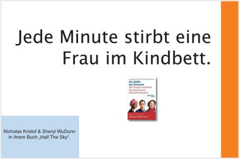 Frauen, Kindbett, Nicholas Kristof, Half the Sky