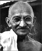 Mahatma Gandhi, Homöopathie, Globuli, Friedenskämpfer, Hahnemann, Medizin, Globulix, Latrin Reichelt, Hans-Heinrich Reichelt