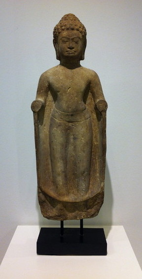 Khmer-Buddha, Kunst, antik, Asien, Spiritualität, Statuen, Buddhas, Tibet, Nepal, Indien, Burma, Janine Tan, Fine & Divine