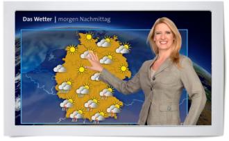 Claudia Kleinert, Das Wetter, ARD