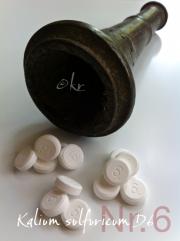 Schüßler, Schuessler, Salze, Nr. 6, Kalium sulfuricum