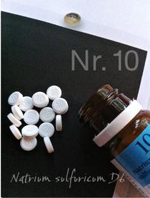 Natrium sulfuricum, Nr. 10, Schüßler Salze, Schuessler, Detox, DHU