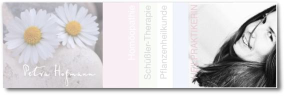 Petra Hofmann, Heilpraktikerin, Homöopathei, Schüßler Salze, Pflanzenheilkunde, Hünfelden