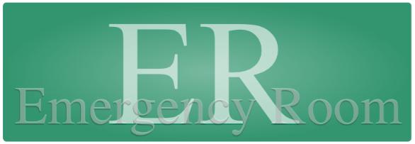 Notfall, Unfall, Verletzung, Globuli, Homöopathie, ER, Emergency Room, Notaufnahme