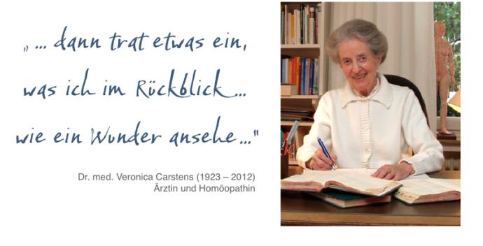globuli, Homöopathie, Veronica Castens, Carstens-Stiftung