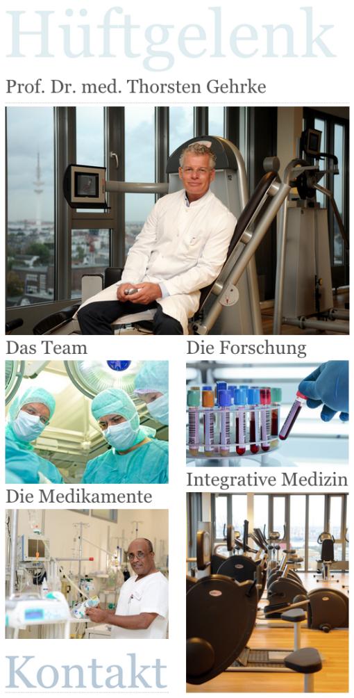 Prof. Dr. Thorsten Gehrke, Endo-Klinik, Hüfte, Hüftgelenk